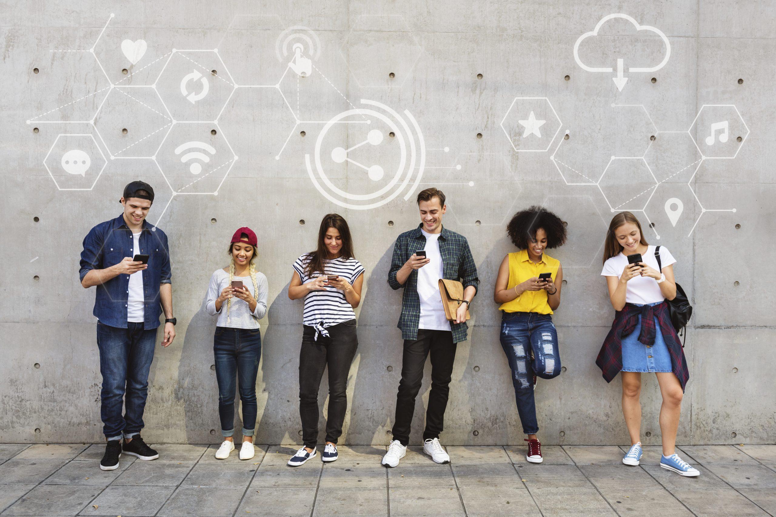 Adolescentes con Redes Sociales